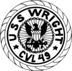 USS Wright (CVL-49) insignia, 1951.png