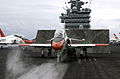 US Navy 030716-N-4308O-018 A T-45C Goshawk prepares to launch off the flight deck.jpg