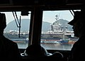 US Navy 100724-N-5637H-031 Sailors assigned to the aircraft carrier USS George Washington (CVN 73) tour the Republic of Korea Navy amphibious landing ship Dokdo (LPH 6111).jpg