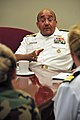 US Navy 101019-N-7367K-003 Vice Adm. Adam M. Robinson Jr., Surgeon General of the Navy and Marine Corps and Chief of the Navy Bureau of Medicine an.jpg