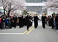US Navy 110408-N-RO948-024 The U.S. 7th Fleet Band marches through the streets during the 2011 Jinhae International Military Band and Honor Guard F.jpg