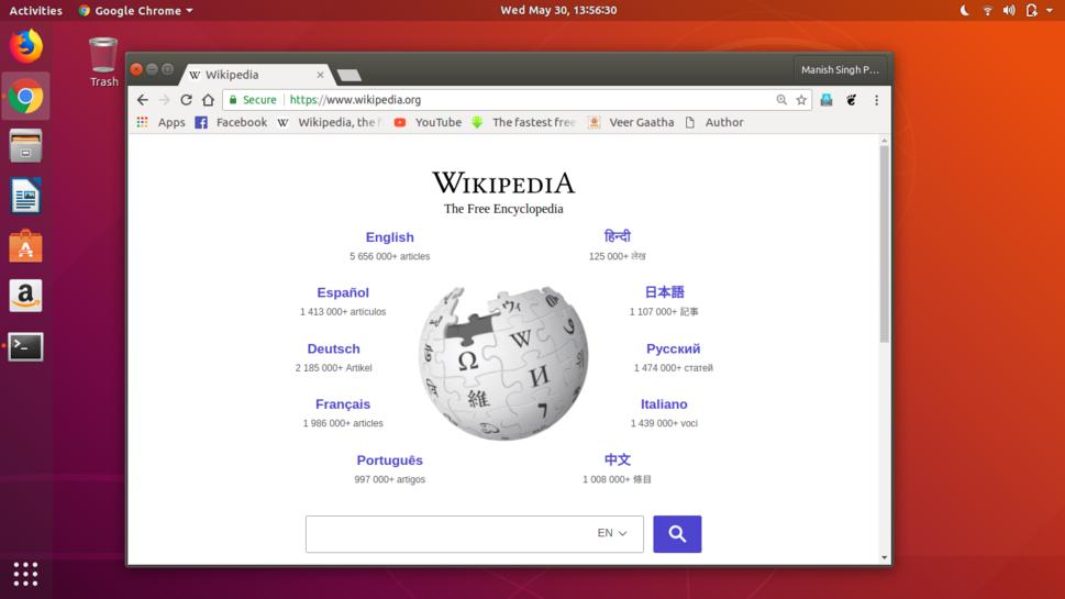 Ubuntu-18.04-LTS-Wikipedia