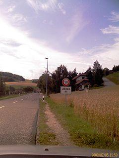 Ueken Municipality in Switzerland in Aargau