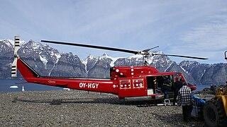 Ukkusissat Heliport in Ukkusissat, Greenland