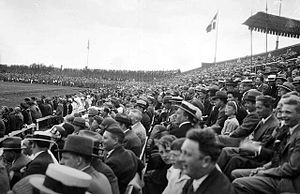 Ullevaal Stadion - Spectators at a match in 1935