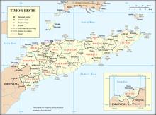Outline of East Timor Wikipedia