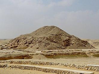 Unas - The pyramid of Unas at Saqqara