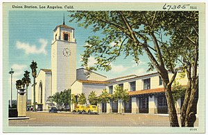 John H. Christie - Image: Union Station, Los Angeles, Calif (67305)