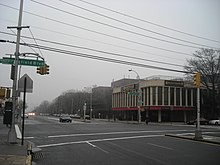 Union Turnpike going through Oakland Gardens.JPG