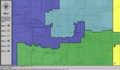 United States Congressional Districts in Oklahoma (metro highlight), 1983 – 1992.tif