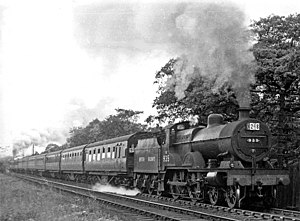 Lickey Incline - Up express in 1948