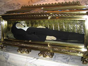 Joaquina Vedruna de Mas - Remains found to be incorrupt.