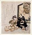 Utagawa toyokuni, l'attore ichikawa danjuro VII e segawa kikunojo V a riposo, 1824.jpg