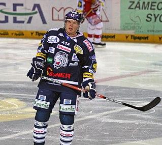Václav Nedorost Czech ice hockey player