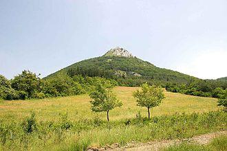 Nappe - Klippe of Hronicum nappe, Vápeč, Strážovské vrchy Mts., Slovakia