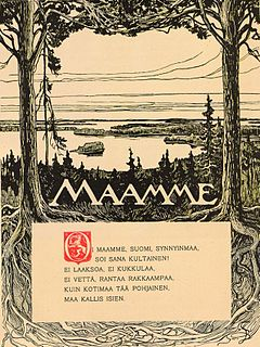 Maamme national anthem of Finland