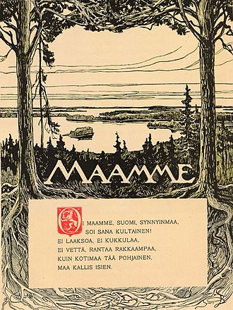 The Tales of Ensign Stål - The first poem and eventual Finnish national anthem, Maamme.