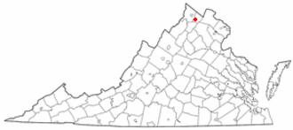 Boyce, Virginia - Image: VA Map doton Boyce