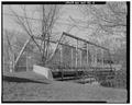 VIEW TO NORTHEAST. - Bridge Street Bridge, Spanning Milwaukee River, Grafton, Ozaukee County, WI HAER WIS,45-GRAF,1-4.tif