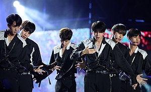 VIXX - VIXX performing at Korea Sale Festa in September 2016