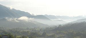 Valle di Comino - The Valle di Comino from Picinisco