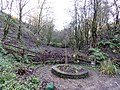 Vale Grove Gardens & old quarry, Barrmill Park, North Ayrshire, Scotland.jpg