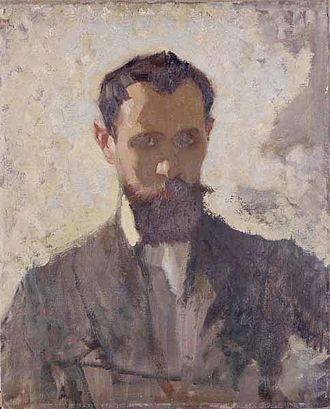 Pierre Adolphe Valette - Self-portrait (1912)