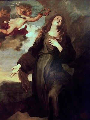 Italiano: Santa Rosalia incoronata dagli angel...