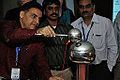 Van de Graaff Generator Experimentation - Indo-Finnish-Thai Exhibit Development Workshop - NCSM - Kolkata 2014-11-27 9736.JPG