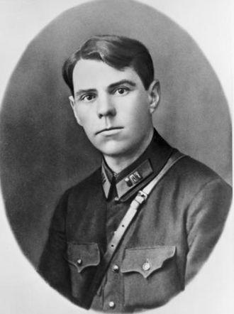 Aleksandr Vasilevsky - Regimental Commander Aleksandr Vasilevsky in 1928.
