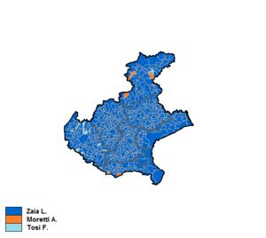 Venetian regional election, 2015 - Image: Veneto 2015 Candidati