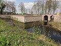 Venray Geijsteren, Rijksmonument 28441 kasteelruine tweede grachtbrug.JPG