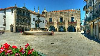 Viana do Castelo - Republic Square: historical centre of Viana do Castelo