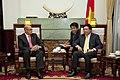 Vicecanciller Marco Albuja se reúne con el Ministro de Relaciones Exteriores de Vietnam (8414290786).jpg