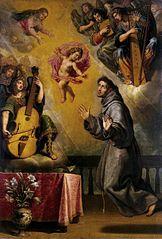 Vision of St Antony of Padua