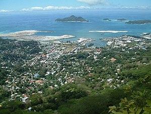 Mahé, Seychelles - Image: Victoria (Seychelles)