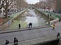 Vidange canal Saint-Martin D160105 - Pont de la Grange-aux-Belles et bassin des Marais.jpg