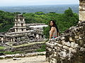 View from Temple of the Foliated Cross - Palenque Archaeological Site - Chiapas - Mexico (15057609063).jpg
