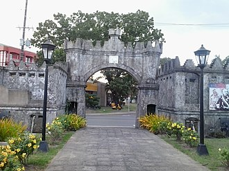 Subic Spanish gate - Image: View from inside of Subic Spanish Gate