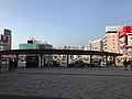 View in front of north entrance of Oita Station 3.jpg