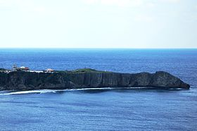 View of Cape Hedo from Yanbarukuina observatory.JPG
