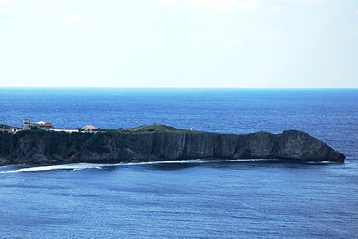 View of Cape Hedo from Yanbarukuina observatory
