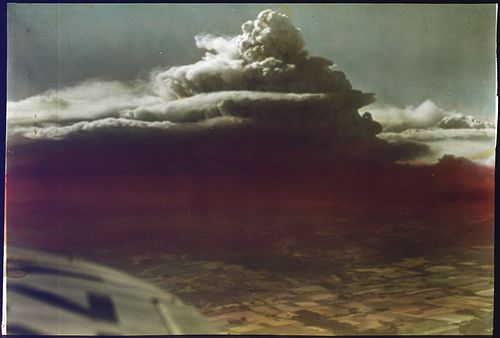 View of one of the Tillamook Burn fires in August 1933. View of Tillamook Fire, Oregon from airplane - NARA - 299308.jpg