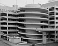 View of parking deck spiral exit ramp detail, from northwest looking southeast. - Rich's Downtown Department Store, 45 Broad Street, Atlanta.jpeg