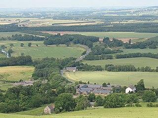 Akeld a village located in Northumberland, United Kingdom