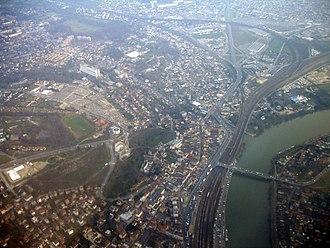 Villeneuve-Saint-Georges - Aerial view of Villeneuve-Saint-Georges