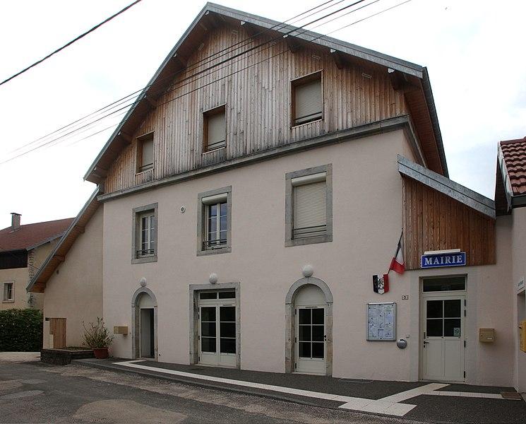 Mairie de Villers-sous-Montrond (Doubs).