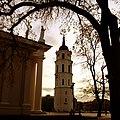 Vilnius Cathedral, Bell Tower, Vilniaus arkikatedra, varpinė - panoramio.jpg