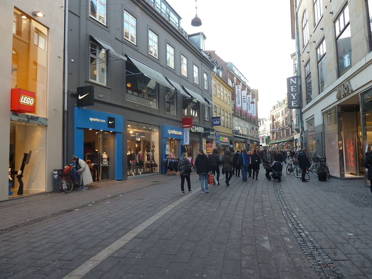 Copenhague Centre Ville Carte