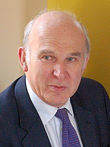 Portrait de Vince Cable
